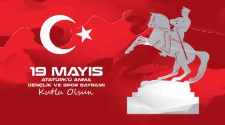 19 Mayıs Atatürk'ü Anma, Gençlik ve Spor Bayramı kutlanıyor
