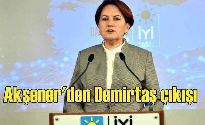 Akşener'den ilginç HDP çıkışı: Yarış eşit değil