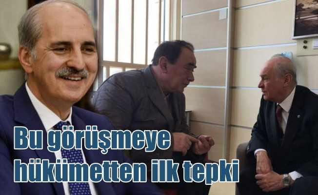 Bahçeli - Çakıcı görüşmesine AK Parti'den ilk tepki