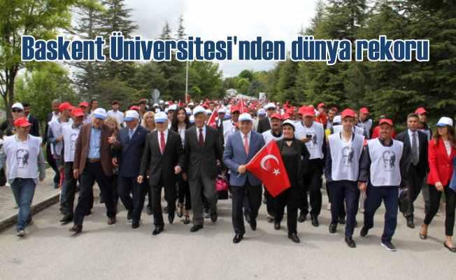 Başkent Üniversitesi'nden dünya rekoru
