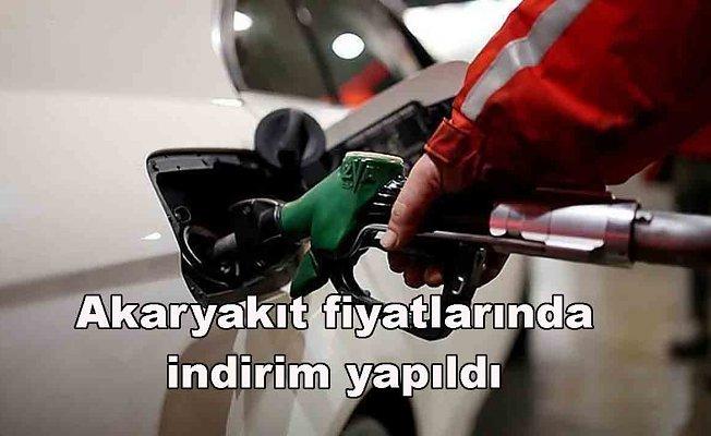 Benzin ve Motorin fiyatlarında indirim