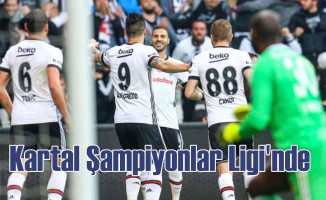 Beşiktaş UEFA Şampiyonlar Ligi'nde Türkiye temsilcisi