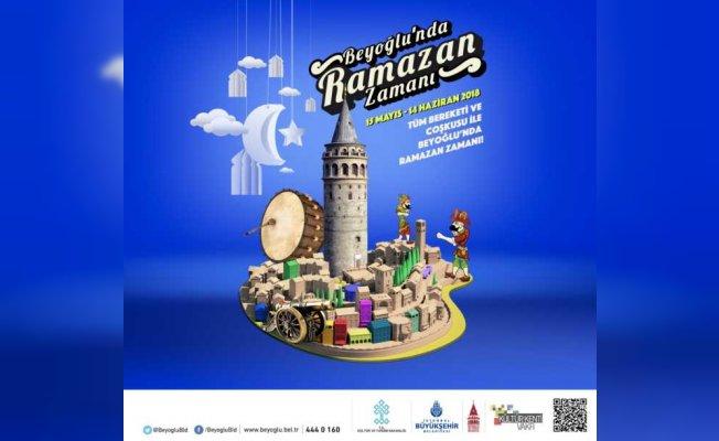 Beyoğlu'nda cadde ve sokaklar iftar sofralarıyla şenlenecek