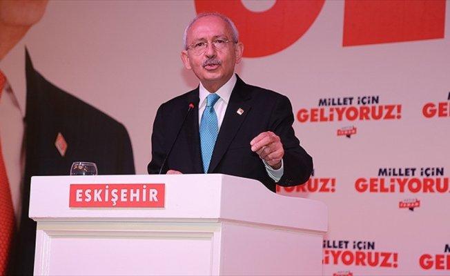 Kılıçdaroğlu: Türkiye'nin geleceği için asla umutsuzluğa kapılmayalım