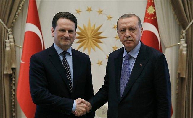 Cumhurbaşkanı Erdoğan, UNRWA Genel Komiserini kabul etti