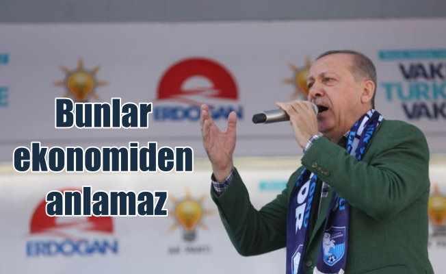 Erdoğan Isparta'da rakiplerine meydan okudu