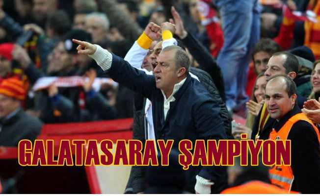 Galatasaray Şampiyonluğu, Göztepe maçıyla aldı...