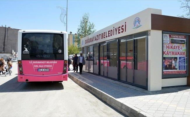 İnternet erişimli ve klimalı otobüs duraklarına yoğun ilgi