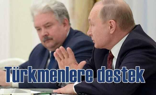 Irak Türkmenleri'ne Rusya Federasyonu'ndan destek