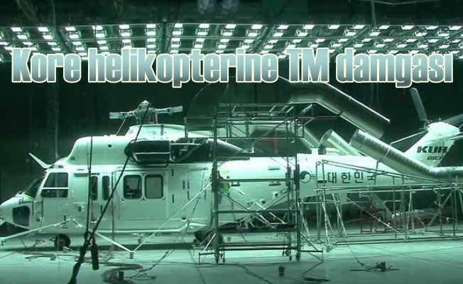 Kore helikopterine Türk Malı damgası