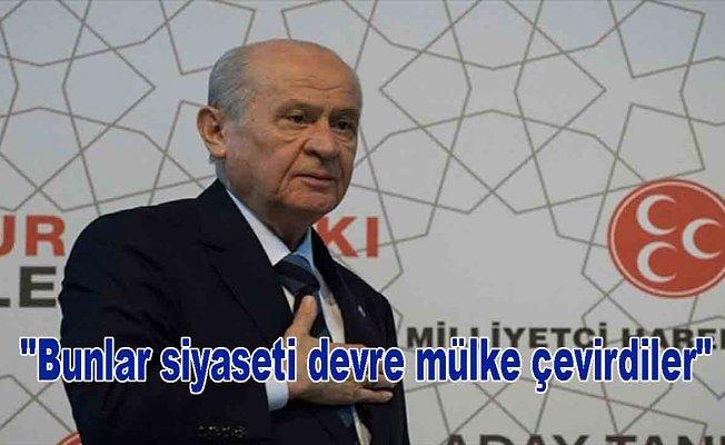 Bahçeli: MHP'yi layık olduğu bir mevkiye mutlaka taşıyacağız