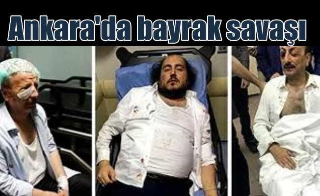 MHP'liler Saadet Parti'lilere saldırdı, 7 yaralı var