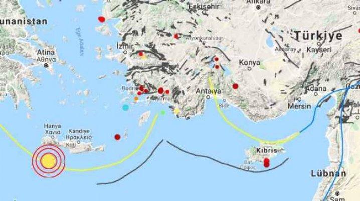 Son Depremler, Ege 4.7 ile sallandı
