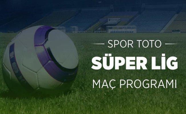 Süper Lig'de 33. haftanın programı belli oldu