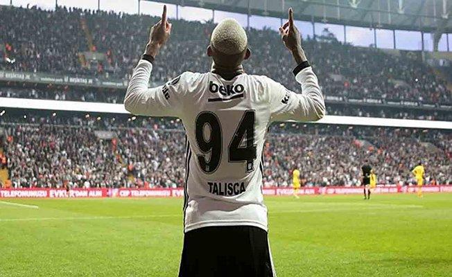 Talisca Beşiktaş'a veda ediyor