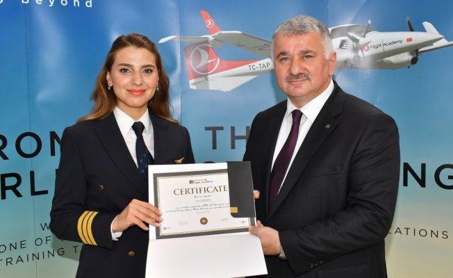THY Uçuş Akademisi mezuniyet töreni