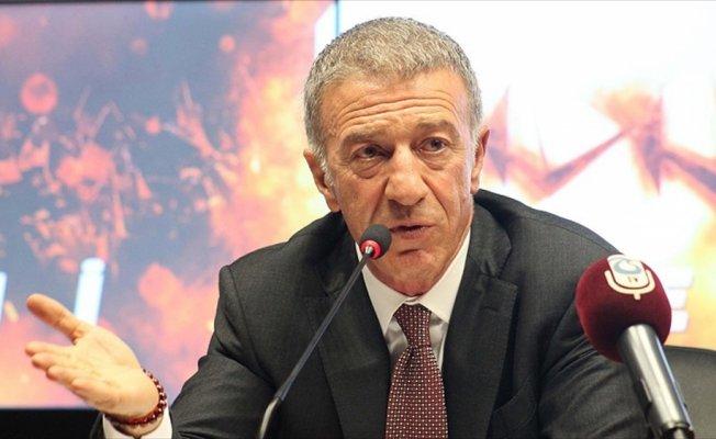 Trabzonspor Kulübü Başkanı Ağaoğlu'ndan teknik direktör açıklaması