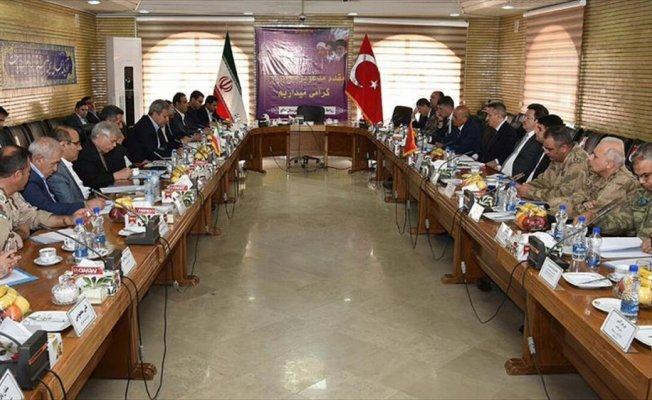 Türk ve İranlı heyetler ortak sınırların güvenliğini görüştü