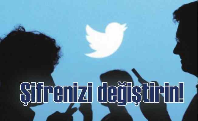 Twitter'dan milyonlarca kullanıcıya şifre uyarısı