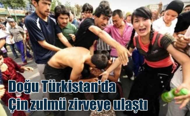 800 bin Uygur Türk'ü Doğu Türkistan'da sürgün edildi