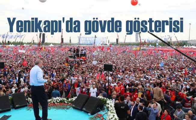 AK Parti'nin İstanbul'da Yenikapı çıkarması