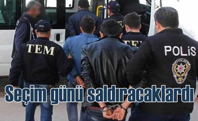 Ankara'da saldırı hazırlığında 11 PKK'lı terörist yakalandı