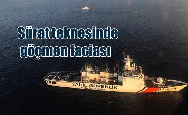Antalya açıklarında göçmen faciası: 6'sı çocuk 9 ölü