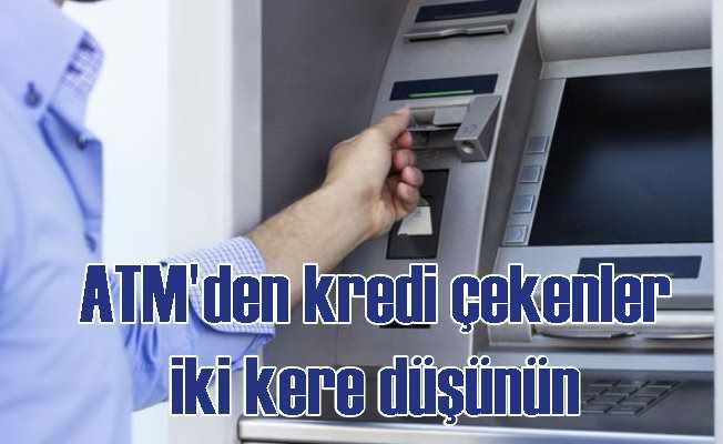 Bankamatikten kredi çekenler dikkat: Yargıtay bankayı haklı buldu