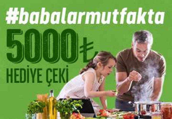 Bereket Döner'den babalara 5.000 TL hediye çeki!