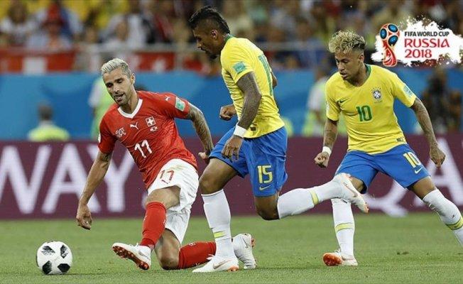 Brezilya puan kaybıyla başladı