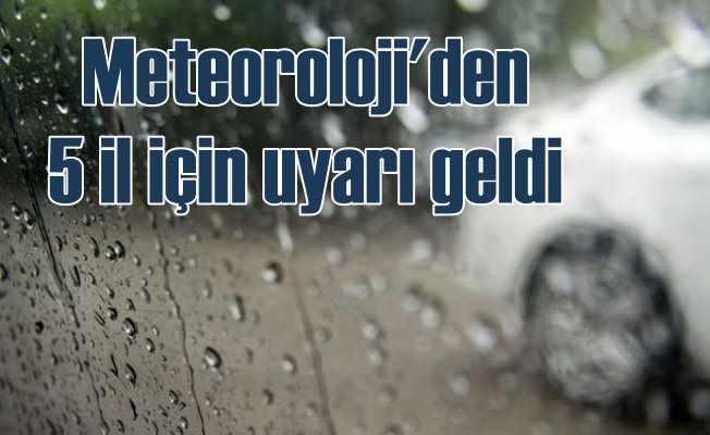 Bugün hava nasıl olacak, Meteorolojiden yağmur uyarısı var