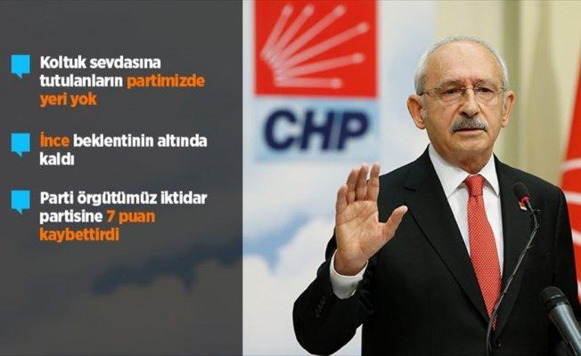 Kılıçdaroğlu: İnce beklentinin altında kaldı