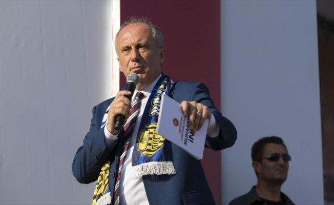 CHP'nin cumhurbaşkanı adayı İnce: Sanayi ve Girişimcilik Bakanlığı kuracağım