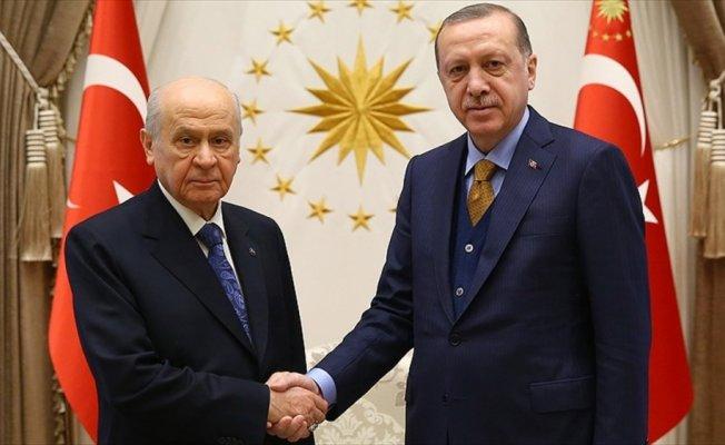 Cumhurbaşkanı Erdoğan ile Bahçeli bir araya gelecek