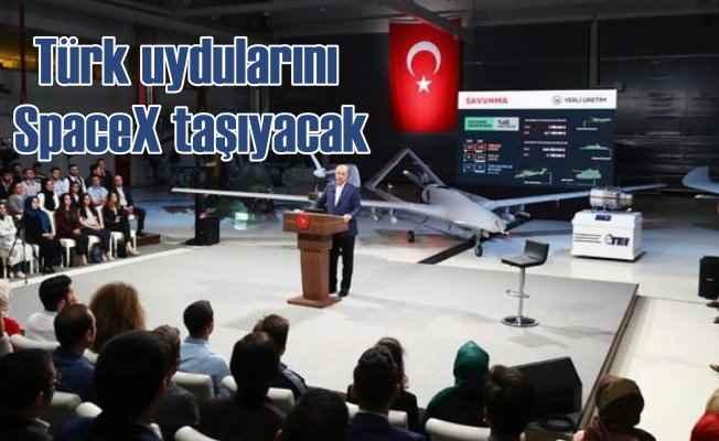Erdoğan açıkladı  |  Elon Musk Türk uydularını uzaya götürmek için gelmiş