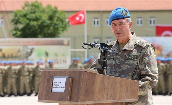 Genelkurmay Başkanı Orgeneral Akar: Terörle mücadelemiz aralıksız devam edecek