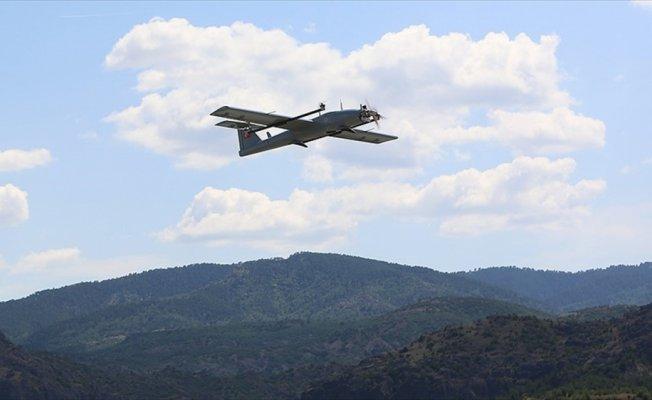 İnsansız hava aracı 'Çağatay' ilk görevine çıktı