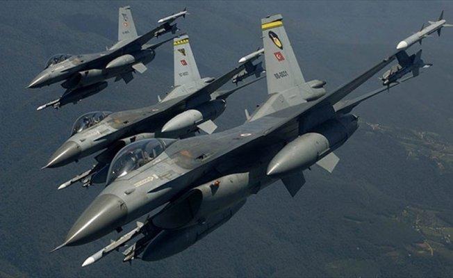 Irak'ın kuzeyi ile Bestler-Dereler'de terör hedefleri vuruldu