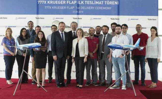 KALE Havacılık 777X için İlk Kruger Flapleri Teslim Etti