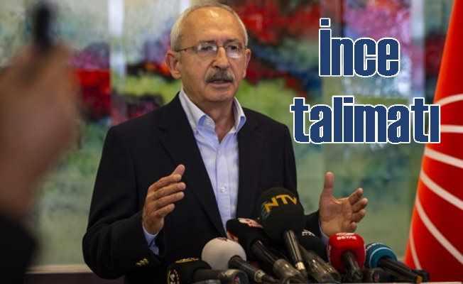 Kılıçdaroğlu'ndan il başkanlarına Muharrem İnce talimatı