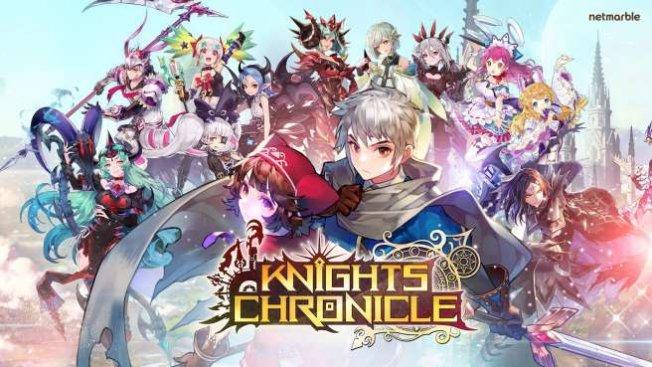 Knights Chronicle oyunu için 1 milyondan fazla kişi ön kayıt