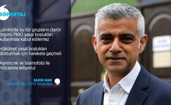 Londra Belediye Başkanı'ndan hükümete PKK çağrısı
