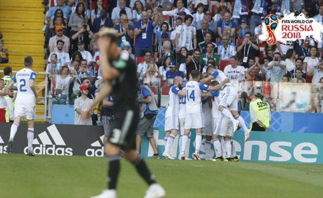 Messi penaltı kaçırdı Arjantin, İzlanda'yı yenemedi