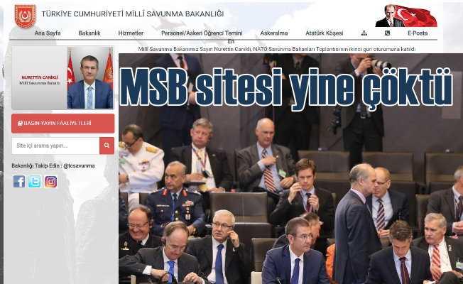 MSB | Milli Savunma Bakanlığı Sitesi yine çöktü