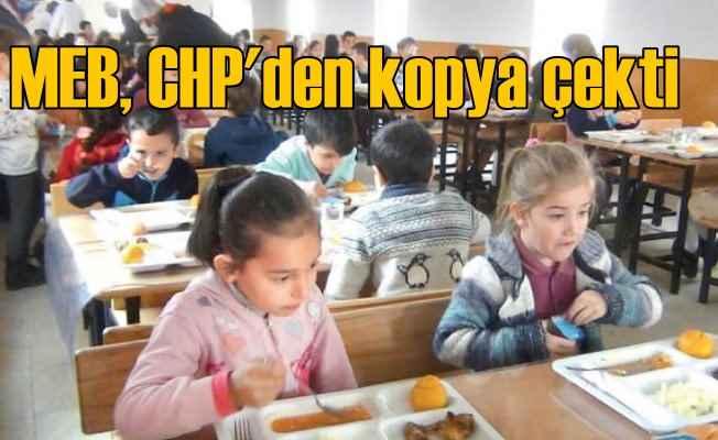 Okullarda öğle yemeği için İnce söz verdi, Bakanlık hemen kaptı