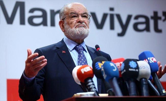 Saadet Partisi Genel Başkanı Karamollaoğlu: Dip dalga bekliyorduk ancak olmadı