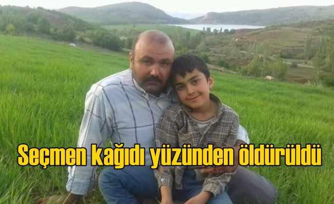 """""""Seçmen kağıdı"""" yüzünden çıkan kavgada muhtar öldürüldü"""
