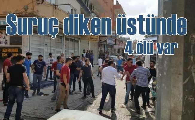 Suruç'ta seçim kavgası; 4 kişi öldü