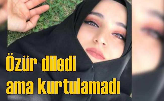 Atatürk'e hakaret eden Safiye tutuklandı