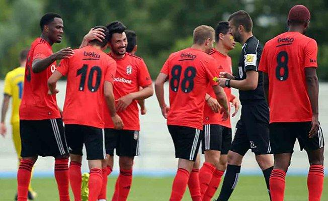 Beşiktaş hazırlık maçında farklı kazandı